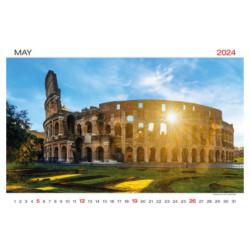 VINIE Papírová taška na láhev vína 12x39x9 cm, modrá