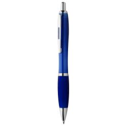 Dárková sada červené propisky a mikrotužky s pogumovaným povrchem a šedými doplňky v luxusním dárkovém pouzdru...