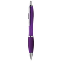 Dárková sada černé propisky a mikrotužky s pogumovaným povrchem a šedými doplňky v luxusním dárkovém pouzdru s...