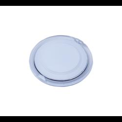 Dvoustěnný plastový termo hrnek na zakázku s víčkem na pití a se silikonovým úchopem, 400 ml. Min. mn. 50...