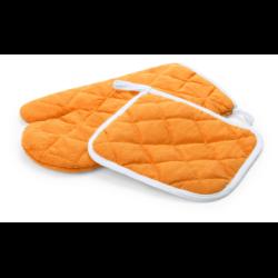 4 druhy nožů z nerezové oceli s dřevěnou rukojetí v černé dárkové...
